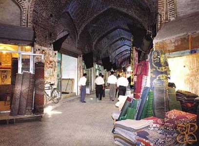 بازار ارومیه تجلی معماری صفویه