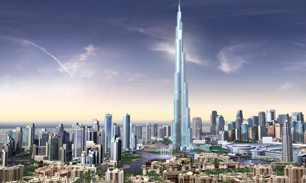 ساخت بزرگ ترین برج جهان در دبی