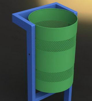 اصول طراحی سطل زباله های عمومی