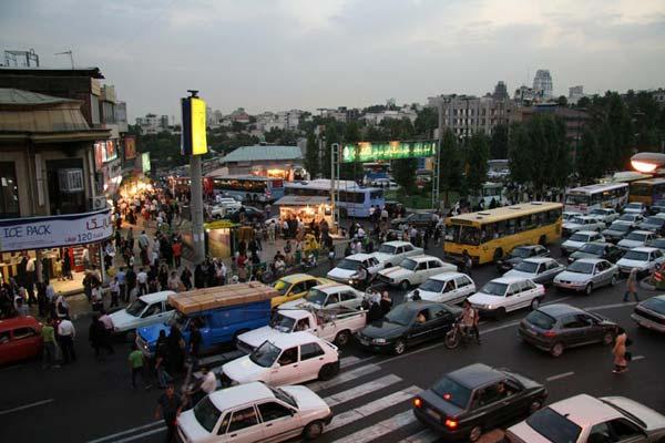 فایل اتوکد منطقه 1 تهران (میدان تجریش)