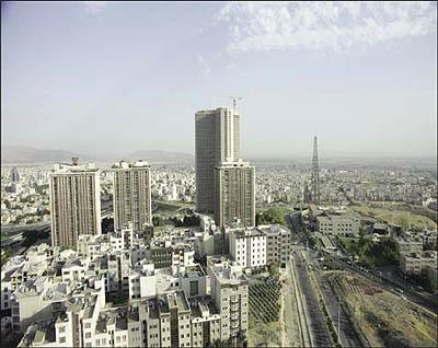 ساختمان های تهران سبز میشوند