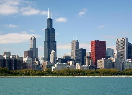 شهر شیکاگو آمریکا