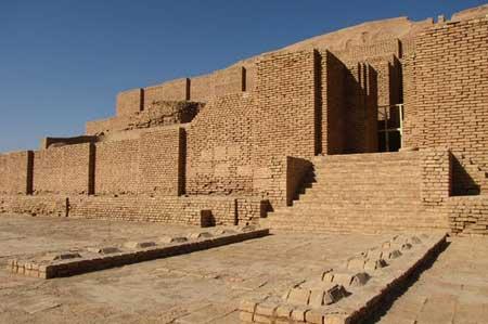 محوطه تاریخی چغازنبیل خوزستان