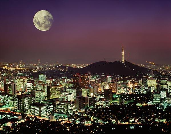 شهر سئول کره جنوبی