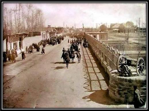 احیای بافت تاریخی تهران قدیم