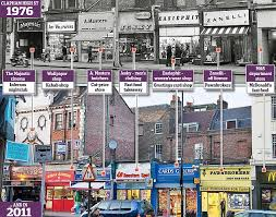 The Changing Competitive Relationship between Smal Town Centres and Out-of-town Retailing