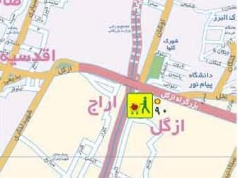 فایل اتوکد منطقه 1 تهران (ازگل)