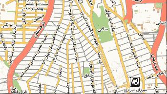 فایل اتوکد منطقه ۶ تهران (یوسف آباد)