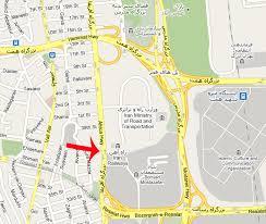 فایل اتوکد منطقه ۳ و ۶ تهران (میدان آفریقا – پلهای فجر)