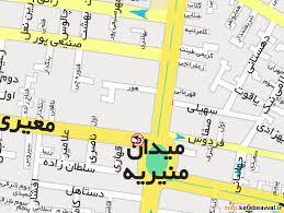 فایل اتوکد منطقه ۱۱ و ۱۲ تهران (میدان منیریه)