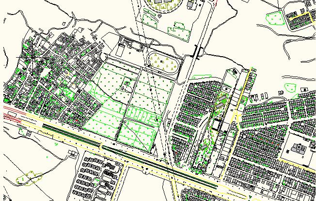 فایل اتوکد شهر مشهد (بخش سوم)