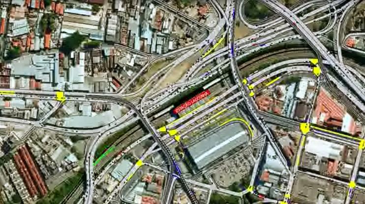 فیلم شبیه سازی ترافیک شهری