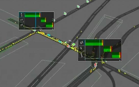 فیلم شبیه سازی شبکه شهری