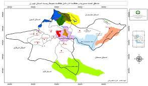بررسي تغييرات دما و بارش تهران طي نيم قرن اخير