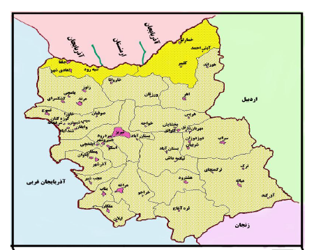 بررسی اولویتهای برنامهریزی و آمایش مناطق مرزی در استان آذربایجان شرقی با به کارگیری مدل تحلیل شبکه (ANP)