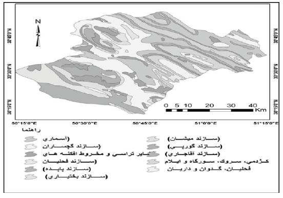 بررسی خصوصیات هیدروژئومورفولوژی حوضه آبخیز خیرآباد