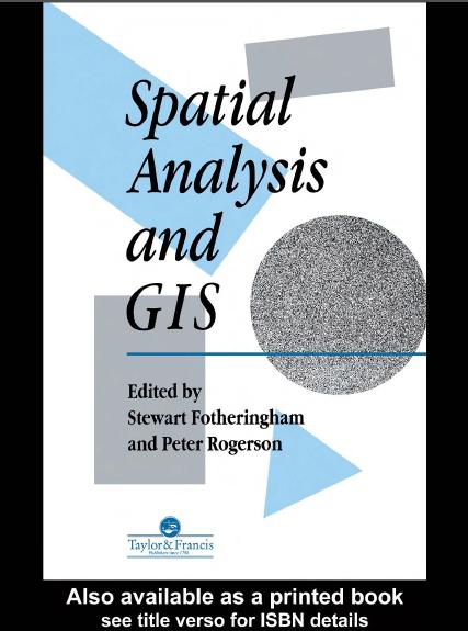 کتاب تجزیه و تحلیل مکانی و GIS