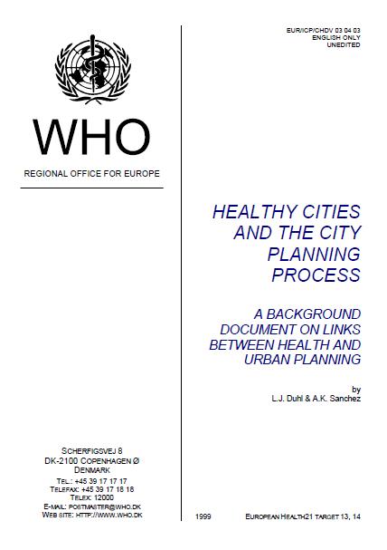 کتاب فرآیند برنامه ریزی شهری و شهرهای سالم