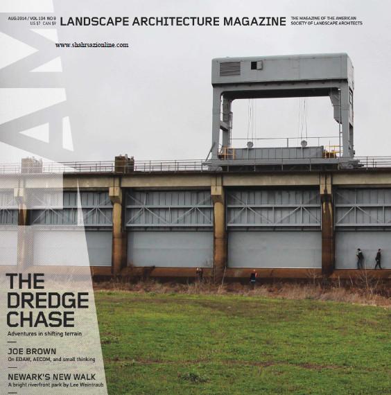 مجله معماری منظر-آگوست 2014