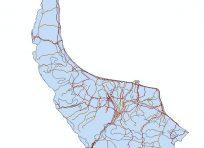 نقشه جی ای اس استان گیلان