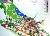 نقشه اتوکد منطقه بندی شیراز