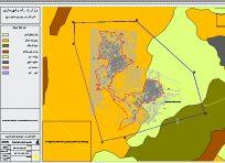 نقشه اتوکد طرح جامع استان اردبیل