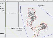 نقشه اتوکد طرح جامع استان اردبیل2