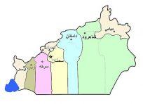 نقشه جی ای اس استان سمنان